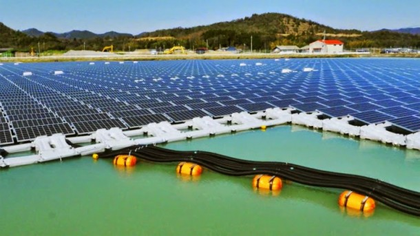 Japan Is Building Largest Floating Solar Power Plant