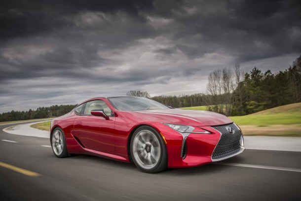 Lexus Has Revealed The Latest Luxury Car – LC 500 Coupe