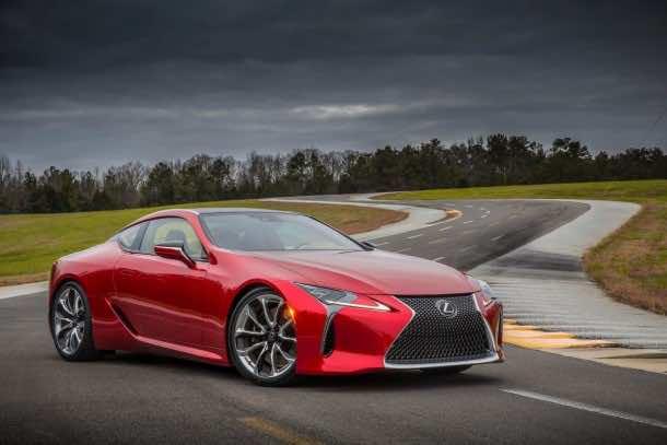 Lexus Has Revealed The Latest Luxury Car – LC 500 Coupe 2