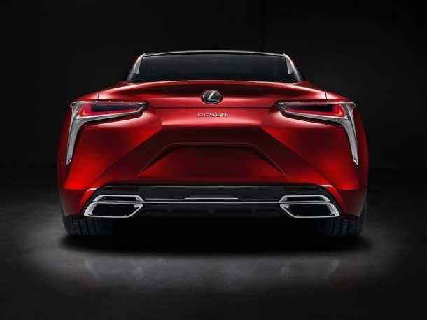 Lexus Has Revealed The Latest Luxury Car – LC 500 Coupe 6