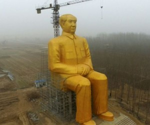 Mao Zedong Monument Unveiled In Henan
