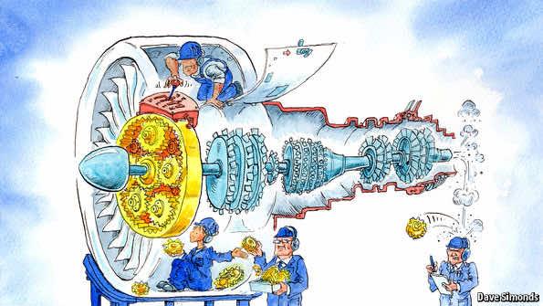 Meet PurePower – A Quieter And More Efficient Jet Engine