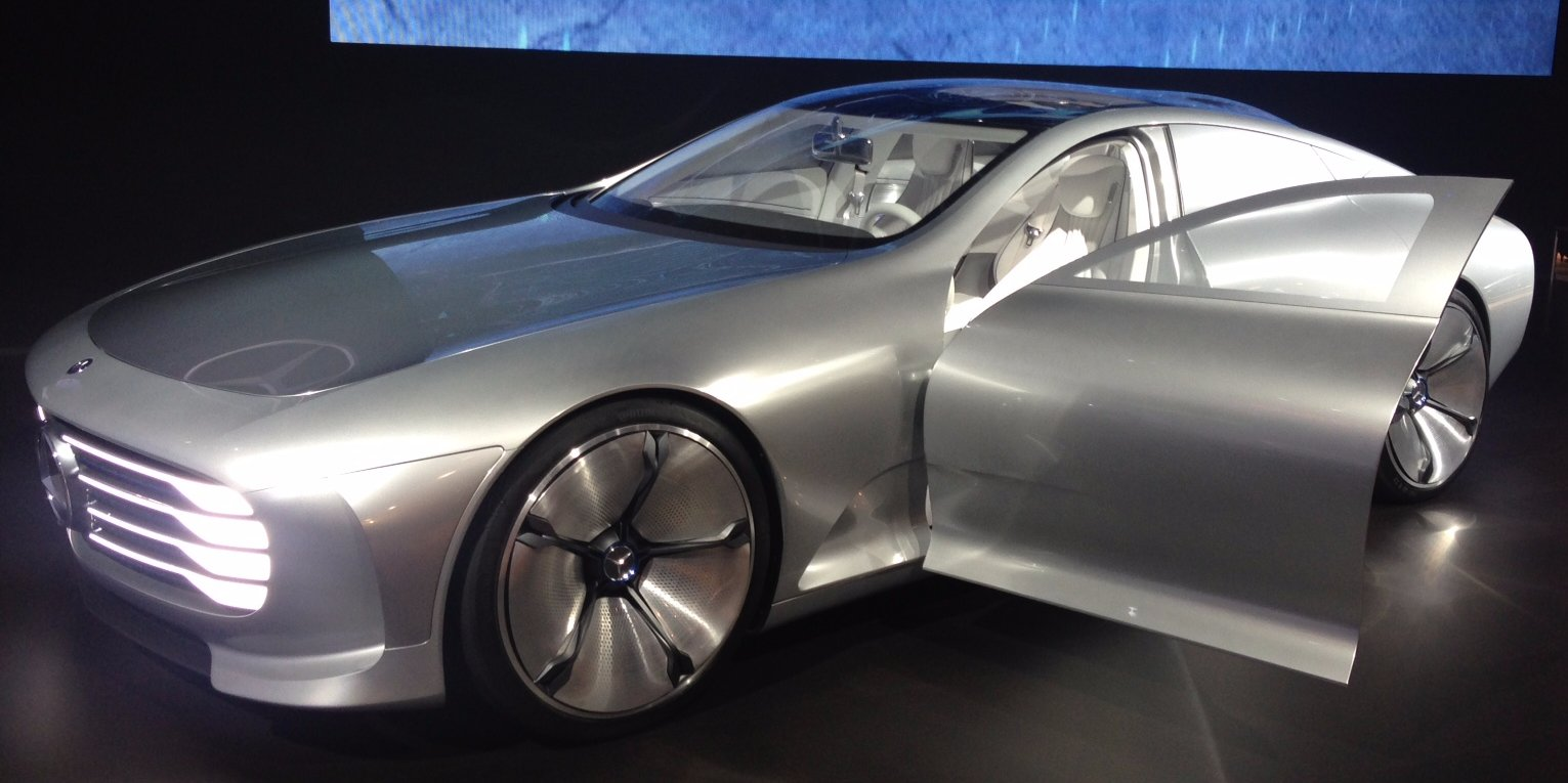 Mercedes Benz CIAA Transforms When You Speed It To 50mph