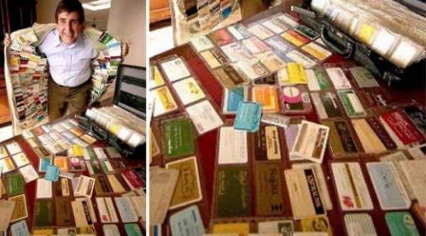 Mr. Plastic Fantastic Owns 1,497 Valid Credit Cards