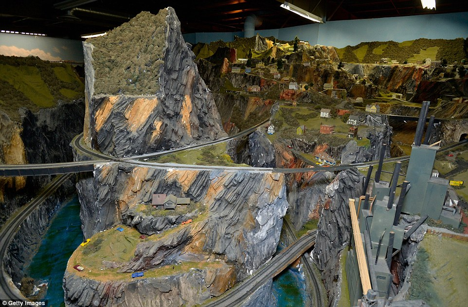 Northlandz World largest train model 3