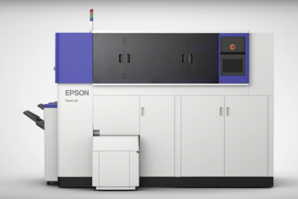 PaperLab Is An In-Office Paper Recycling Machine by Epson 2