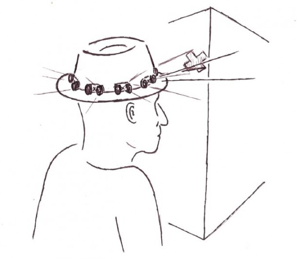 Proximity Hat Will Push Against Your Head To Warn Of Obstacles 2