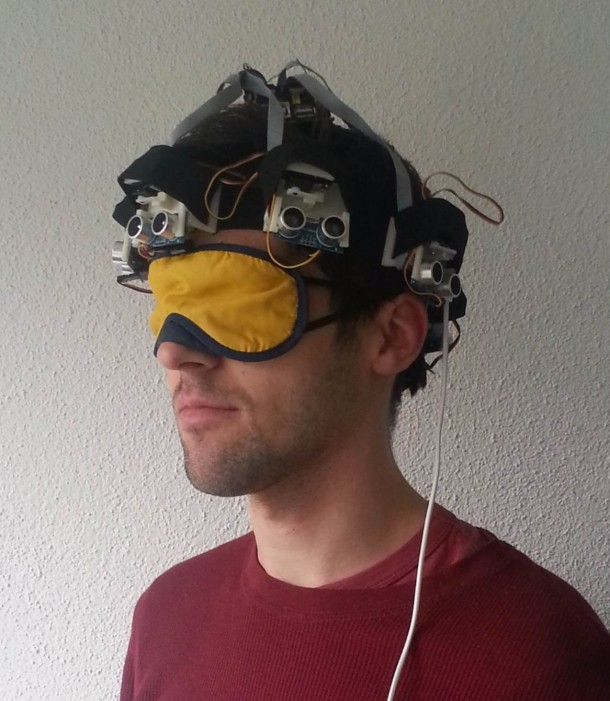 Proximity Hat Will Push Against Your Head To Warn Of Obstacles