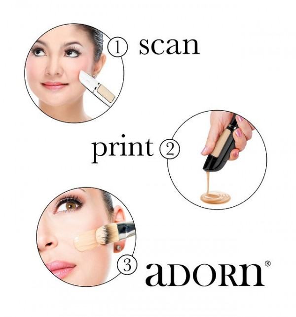 Say Hello To 3D Printing Foundation Pen, Adorn 3D Makeup Pen 2