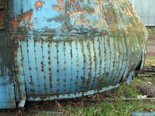Soviet Turbo Train From The 60's Has Been Found 11