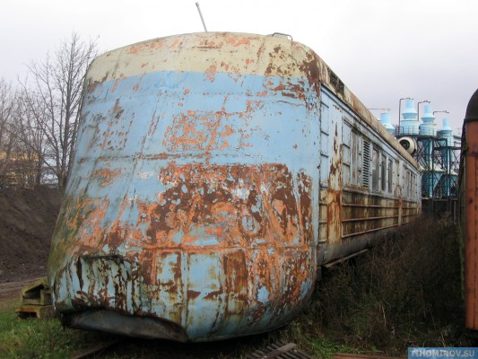 Soviet Turbo Train From The 60's Has Been Found 12