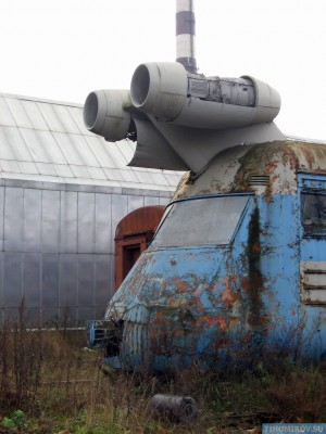 Soviet Turbo Train From The 60's Has Been Found 6