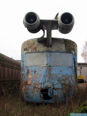 Soviet Turbo Train From The 60's Has Been Found 7