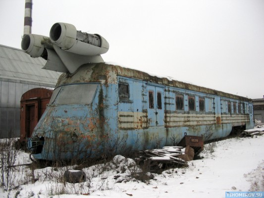 Soviet Turbo Train From The 60's Has Been Found