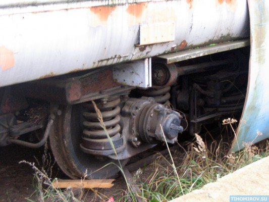 Soviet Turbo Train From The 60's Has Been Found 10