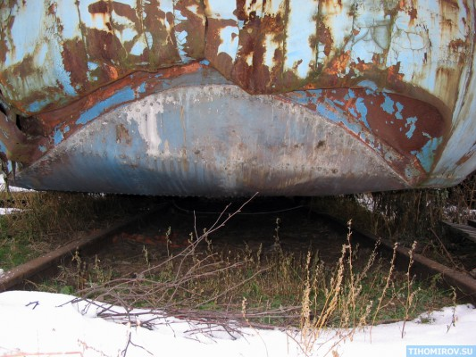 Soviet Turbo Train From The 60's Has Been Found 2