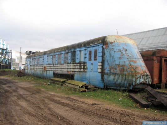 Soviet Turbo Train From The 60's Has Been Found 4