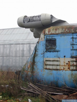 Soviet Turbo Train From The 60's Has Been Found 5
