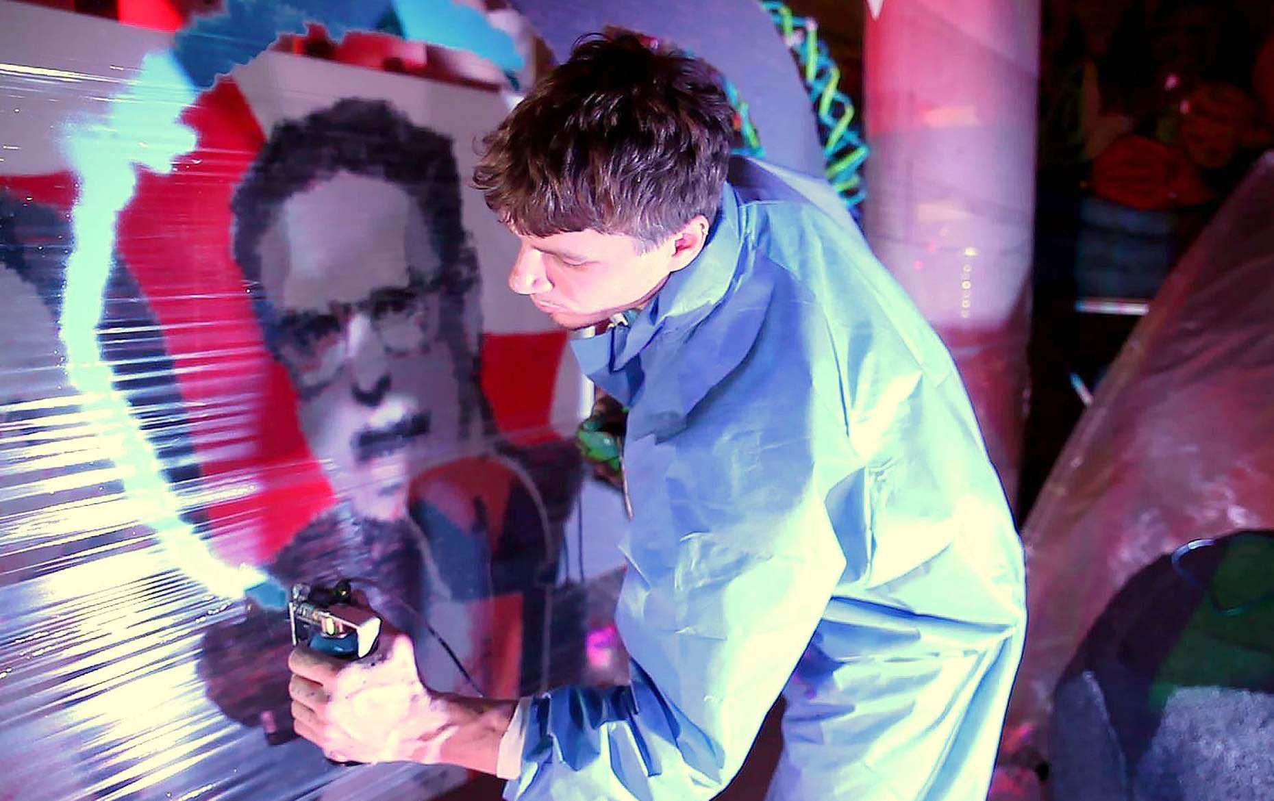SprayPrinter Will Make Everyone Into A Graffiti Artist