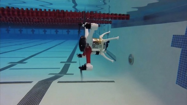 The Loon Copter Can Fly, Float And Dive!