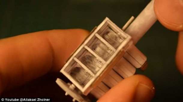 The Origami V8 Engine That Works 5