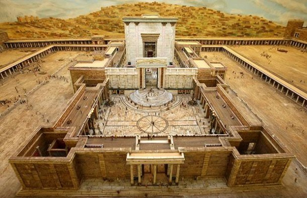 This Farmer Spent 30 Years In Building This Model of Herod's Temple 2