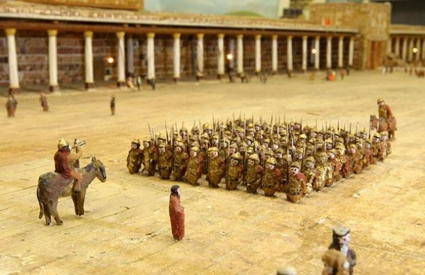 This Farmer Spent 30 Years In Building This Model of Herod's Temple 6
