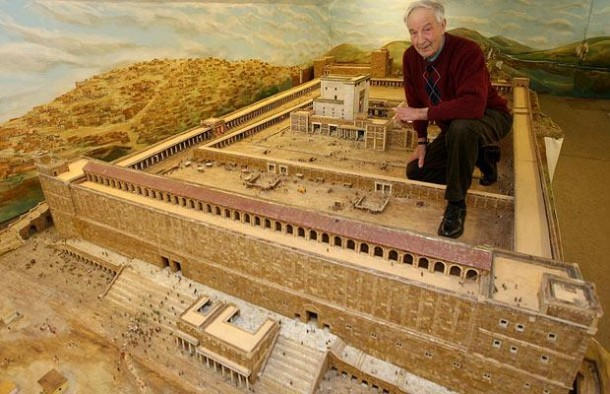 This Farmer Spent 30 Years In Building This Model of Herod's Temple