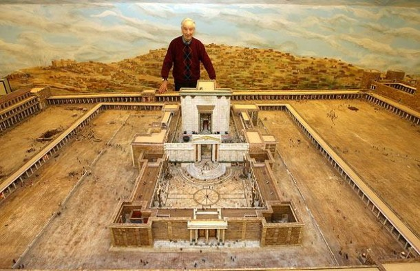 This Farmer Spent 30 Years In Building This Model of Herod's Temple 8