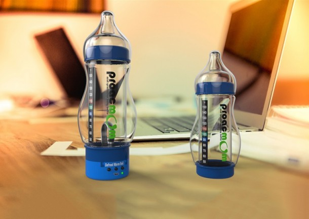 This Is The World's Most Advanced Baby Bottle