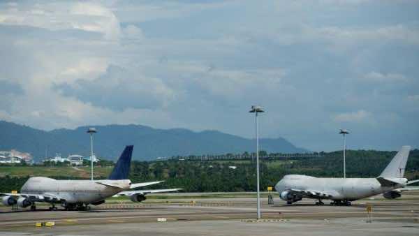Three Boeing 747 Left Abandoned At Kuala Lumpur International Airport 2
