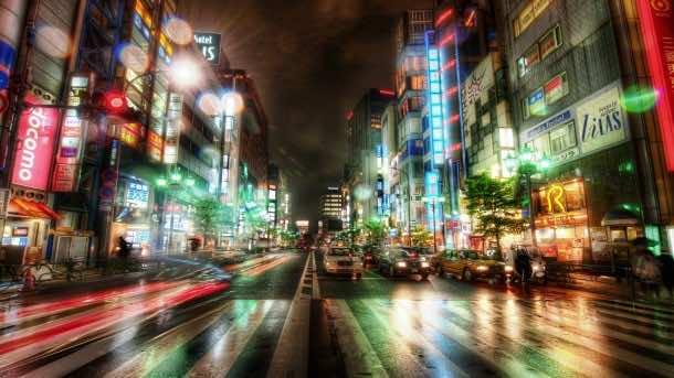 Tokyo Wallpaper HDR