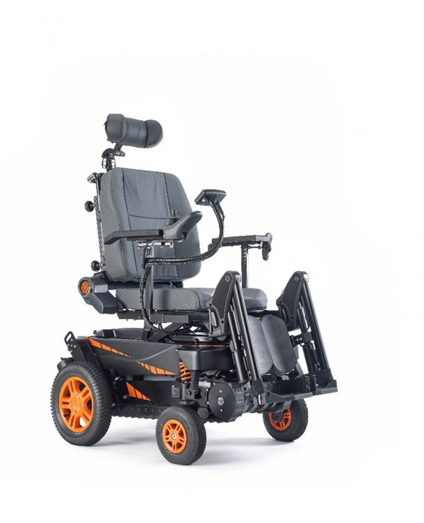 TopChair-S Wheelchair Can Easily Maneuver Stairs 3