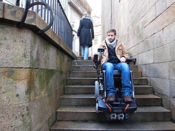 TopChair-S Wheelchair Can Easily Maneuver Stairs 9