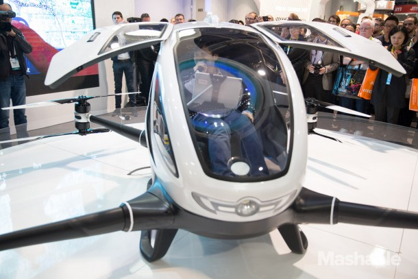 Ehang 184 drone could carry you away one day   Mode of
