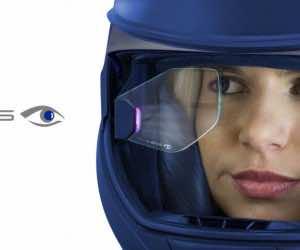 augmented vision bike helmet