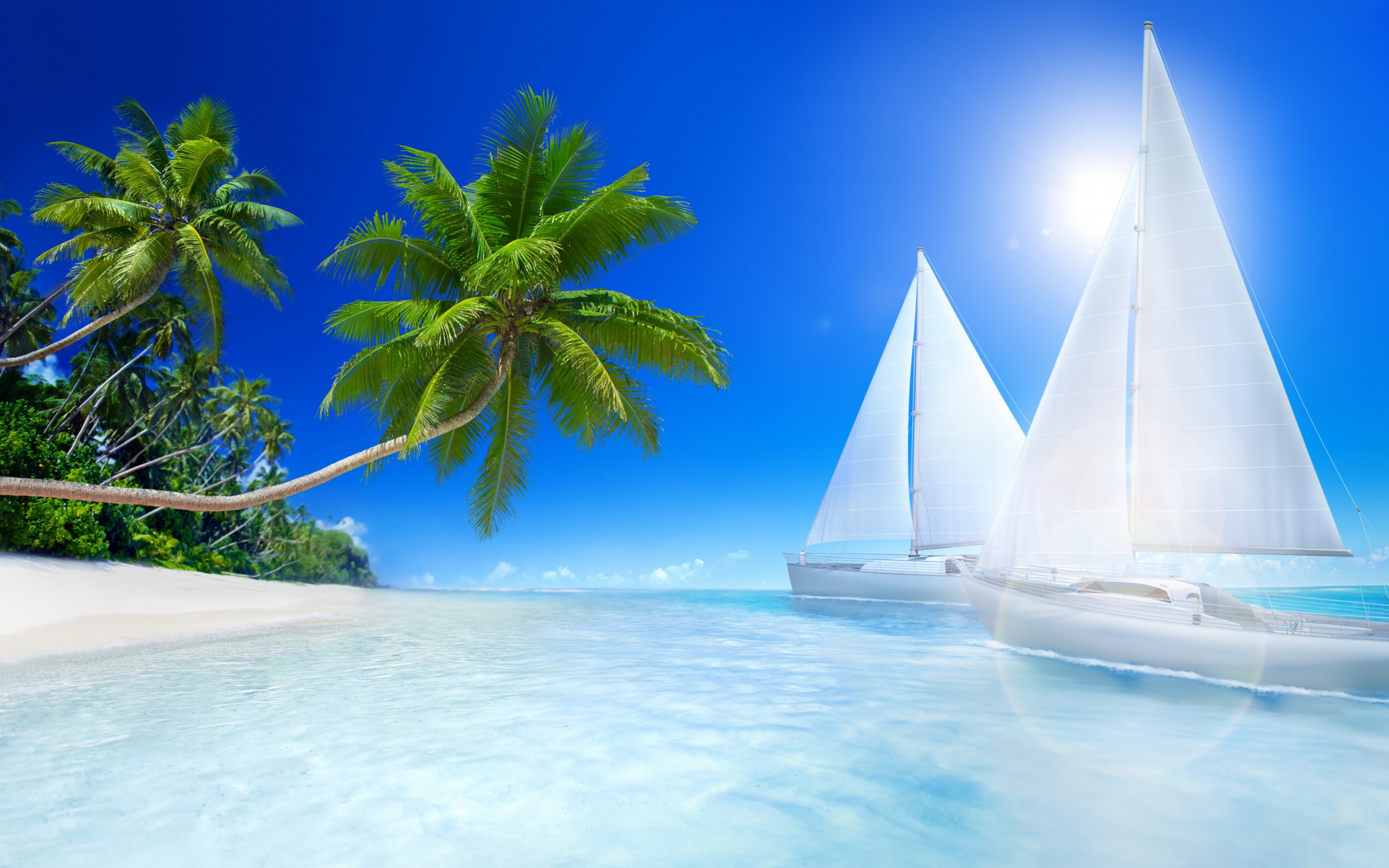 Hd Tropical Island Beach Paradise Wallpapers And Backgrounds: 45 Beach Wallpaper For Mobile And Desktop In Full HD For