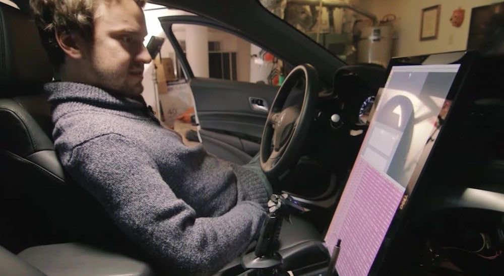 george hotz self driving car