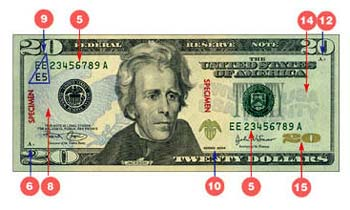 how to change 10 $ bill into 50 $2