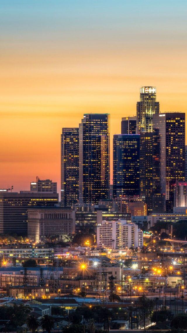 Los angeles wallpaper | Los angeles wallpaper, California ... |Los Angeles City Phone Wallpaper