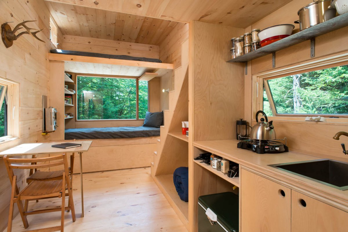 This Tiny Cabin In The Redwoods Is The Perfect Getaway For: These Tiny Homes From Harvard Innovation Lab Are The