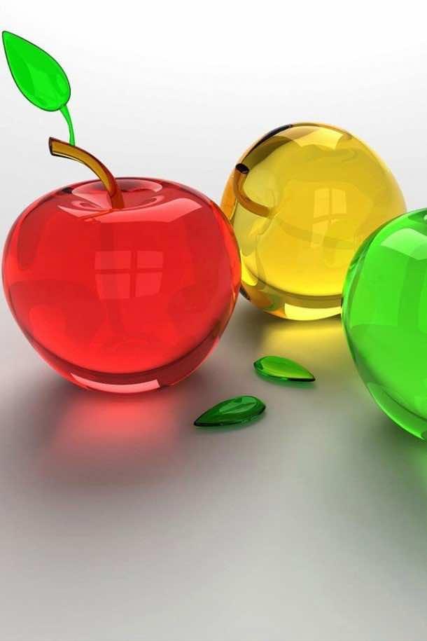 HD Hot Wallpaper glass apple
