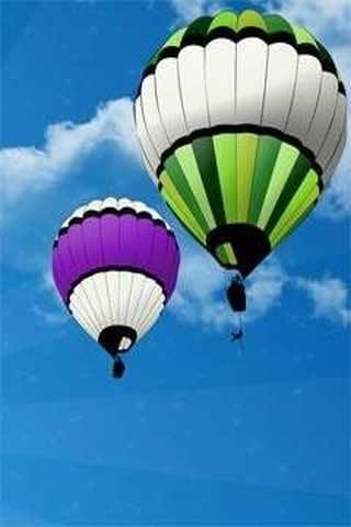 HD Hot Wallpaper balloons