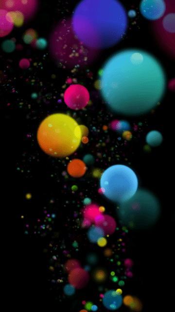 HD Hot Wallpaper colorful bubbles