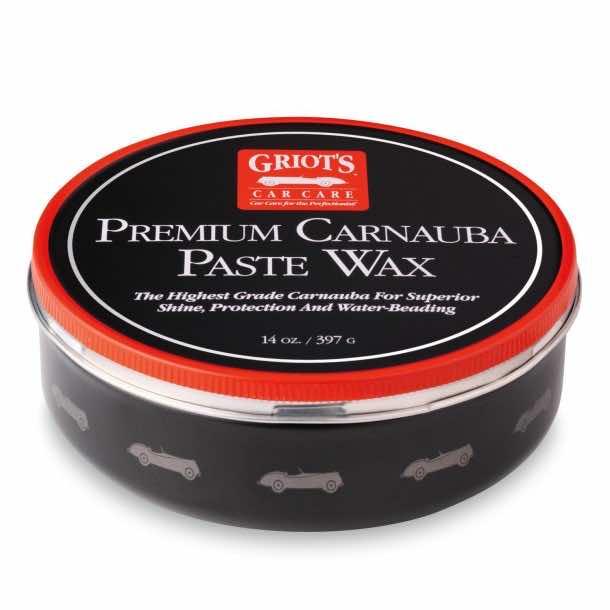 Griot's Garage 11029 Premium Carnauba Paste Wax
