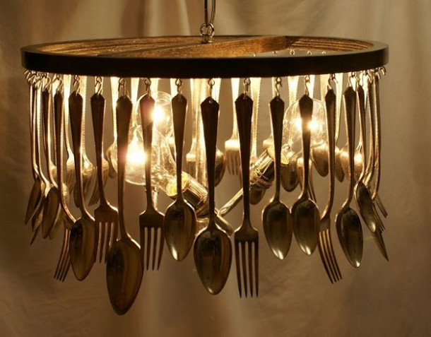 10 Ways You Can Use Kitchen Utensils For Decor 4