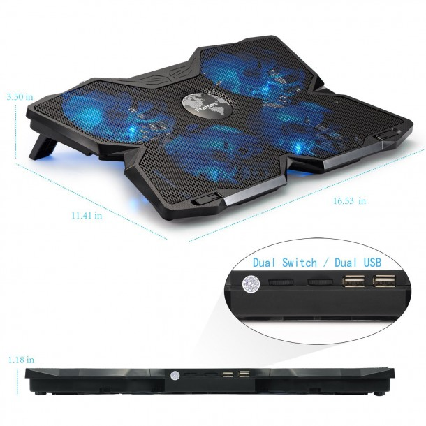 15 inch screen laptop cooling pads (8)