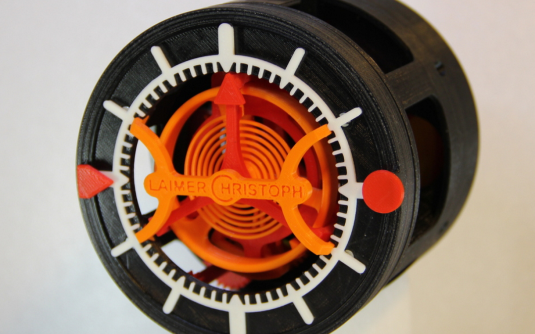 3D-Printed Tourbillon Watch By A Swiss Engineer 2