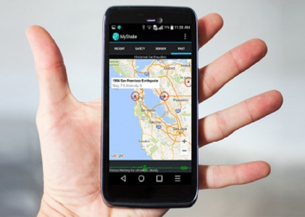 App MyShake Can Help Predict Earthquakes