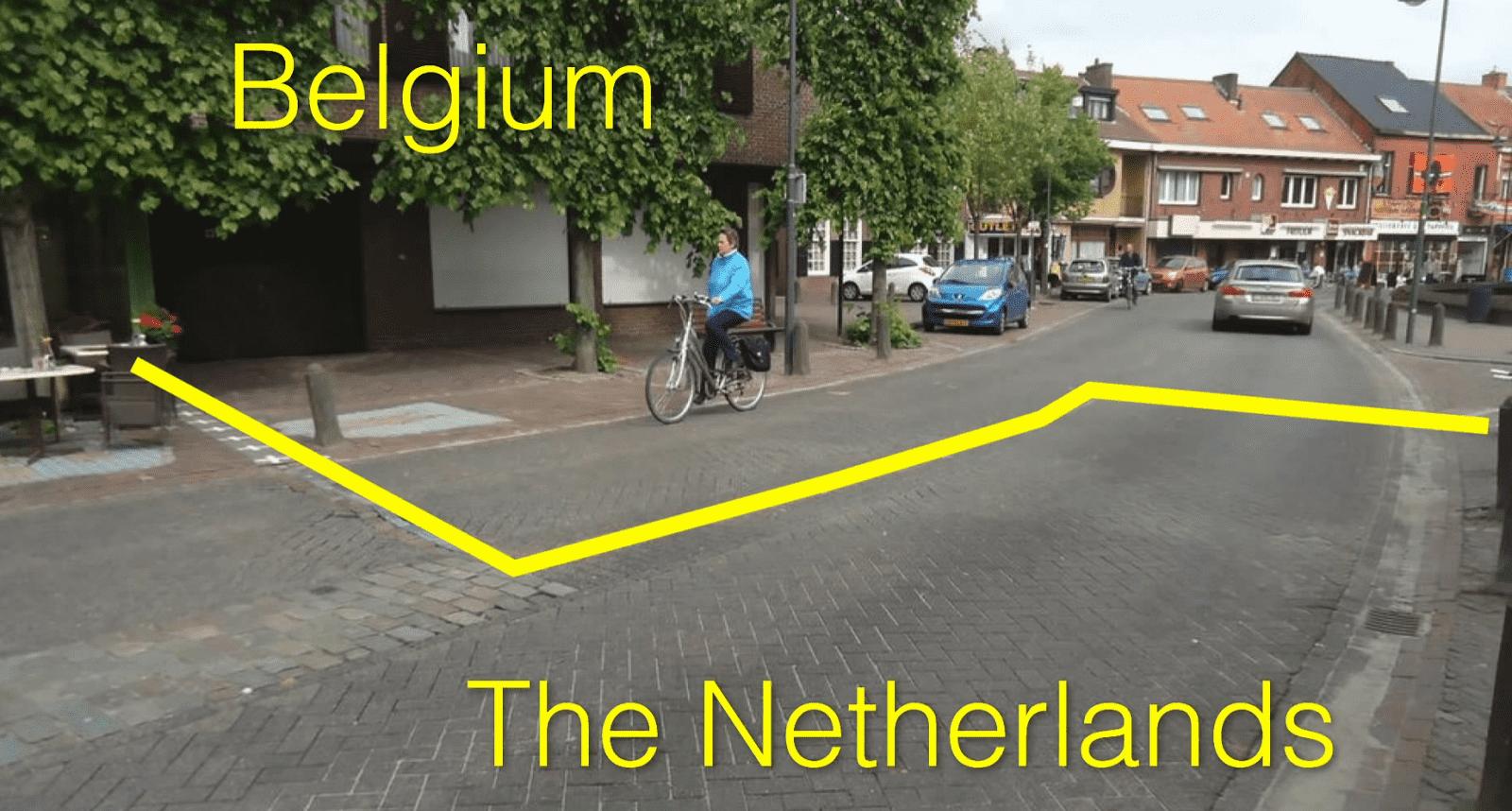 Belgium-Netherlands-Border